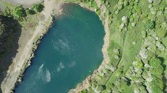 aerial survey water field scotland edinburgh