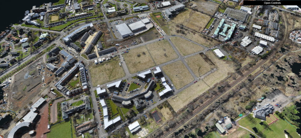Point Cloud Model Glasgow