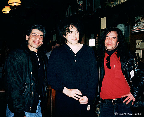 With Robert Smith (Cure)