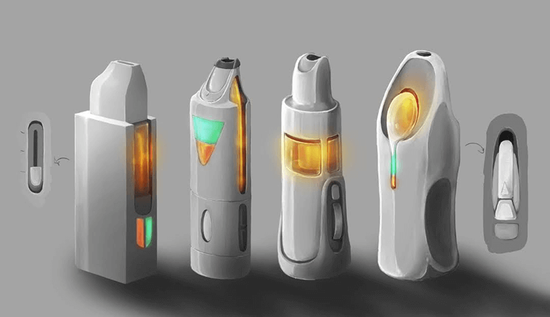 Electronic Device Concept Sketches