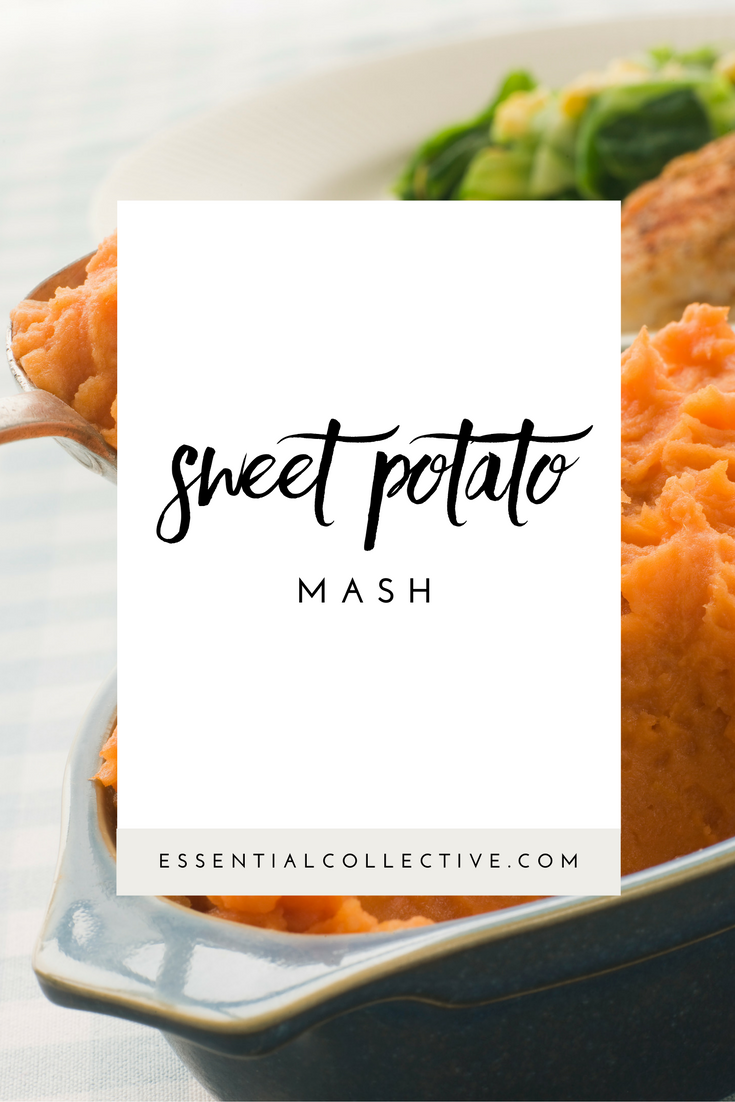 Sweet potato mash with cinnamon essential oil - a simple and delicious dish!