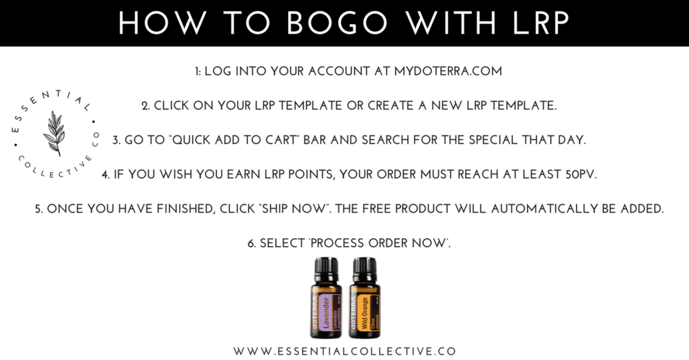 How to BOGO with LRP