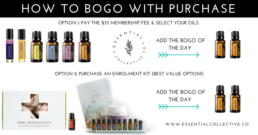 How to BOGO with doTERRA