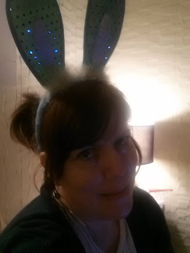 I occasionally take day trips THERE. Bunny ears help me get THERE and back.  I'm not sure why.