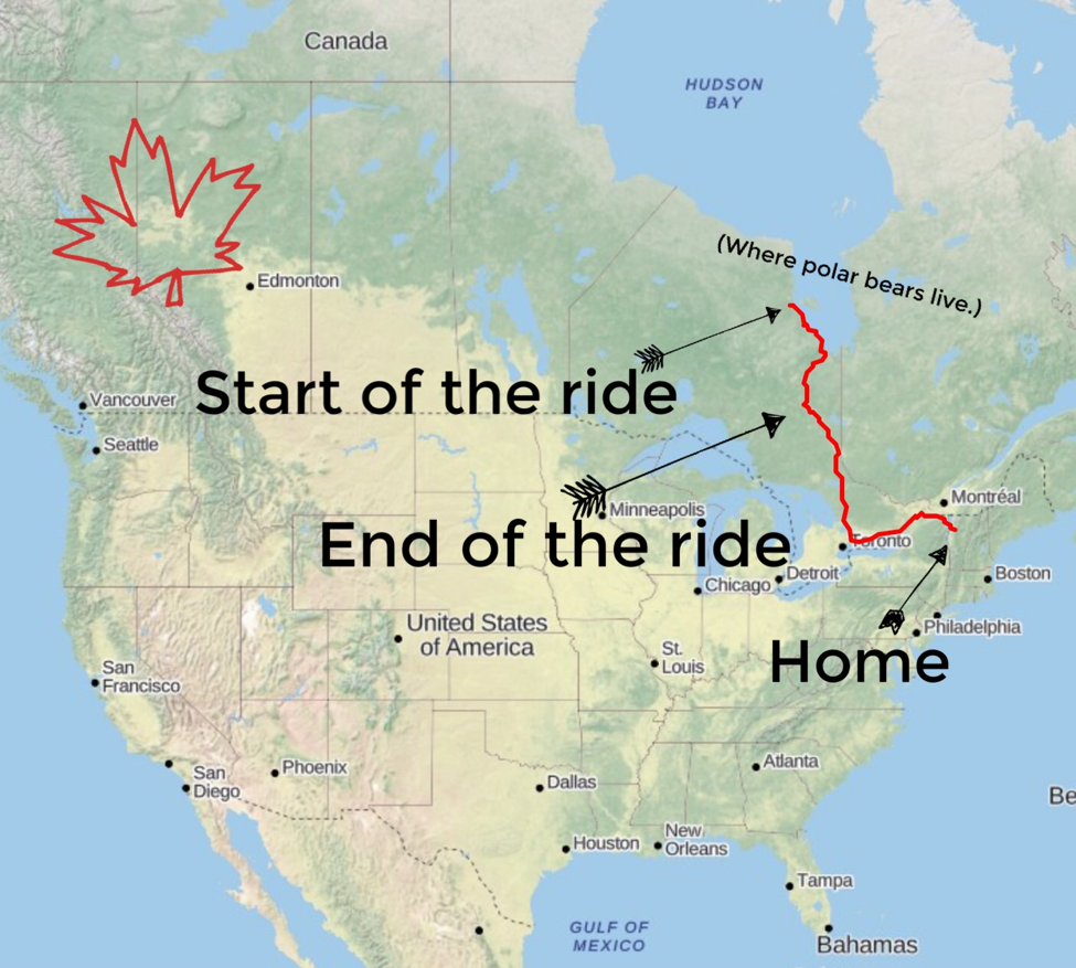 Map Of Canada James Bay.Ice Road Riders The James Bay Descent Cannondale Chronicles