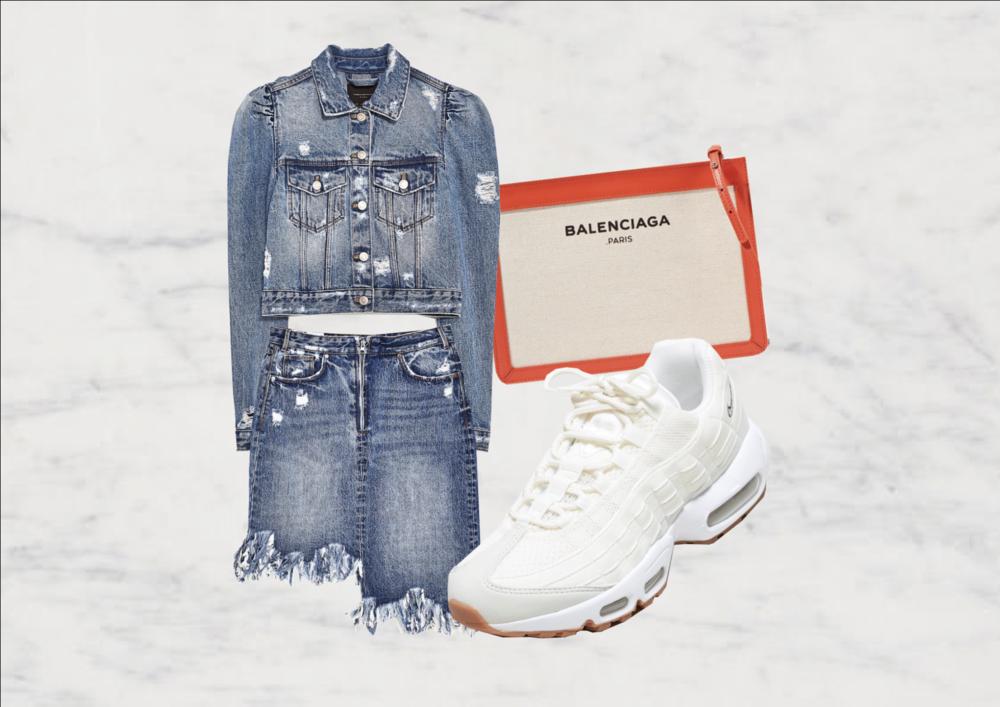 JACKET: Zara | SKIRT: Zara | BAG: Balenciaga Net-a-Porter