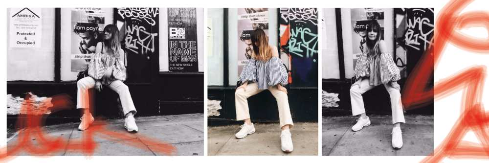 I've been pairing my new  creps  (that's 'trainers' in youth-speak) with more girly outfits (see my article on  Ugly Trainers  for styling tips) to balance out the streetwear aesthetic.
