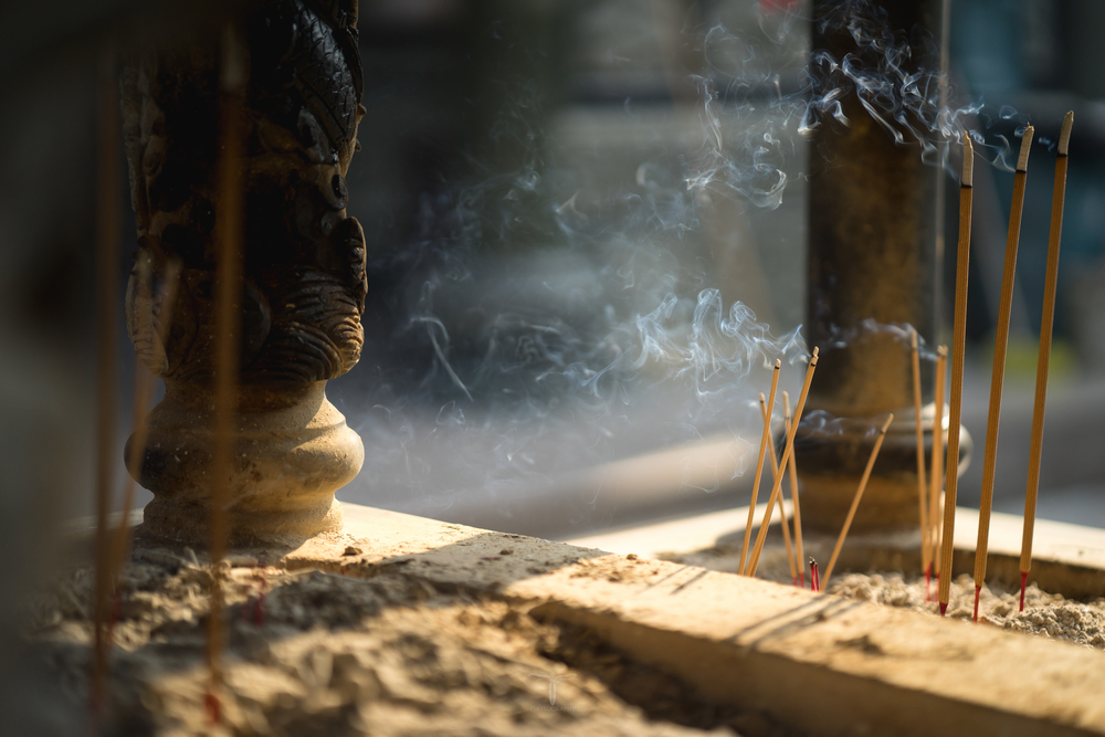 Wafting Smoke of Incense