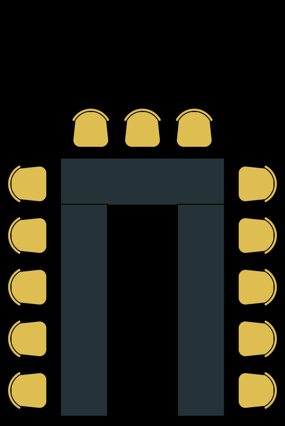 Hestesko (75 pers)