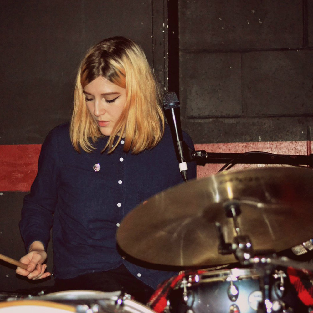 Sophie Bret Tasker - Drums, Vocals, percussion