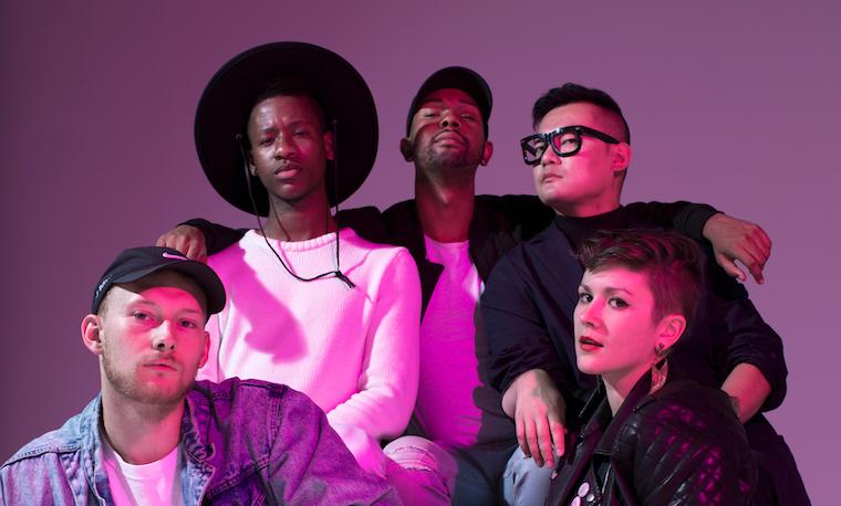 Toronto's RUDE collective is Mark, Kareem, Ferdinand, Josh and Morgan.