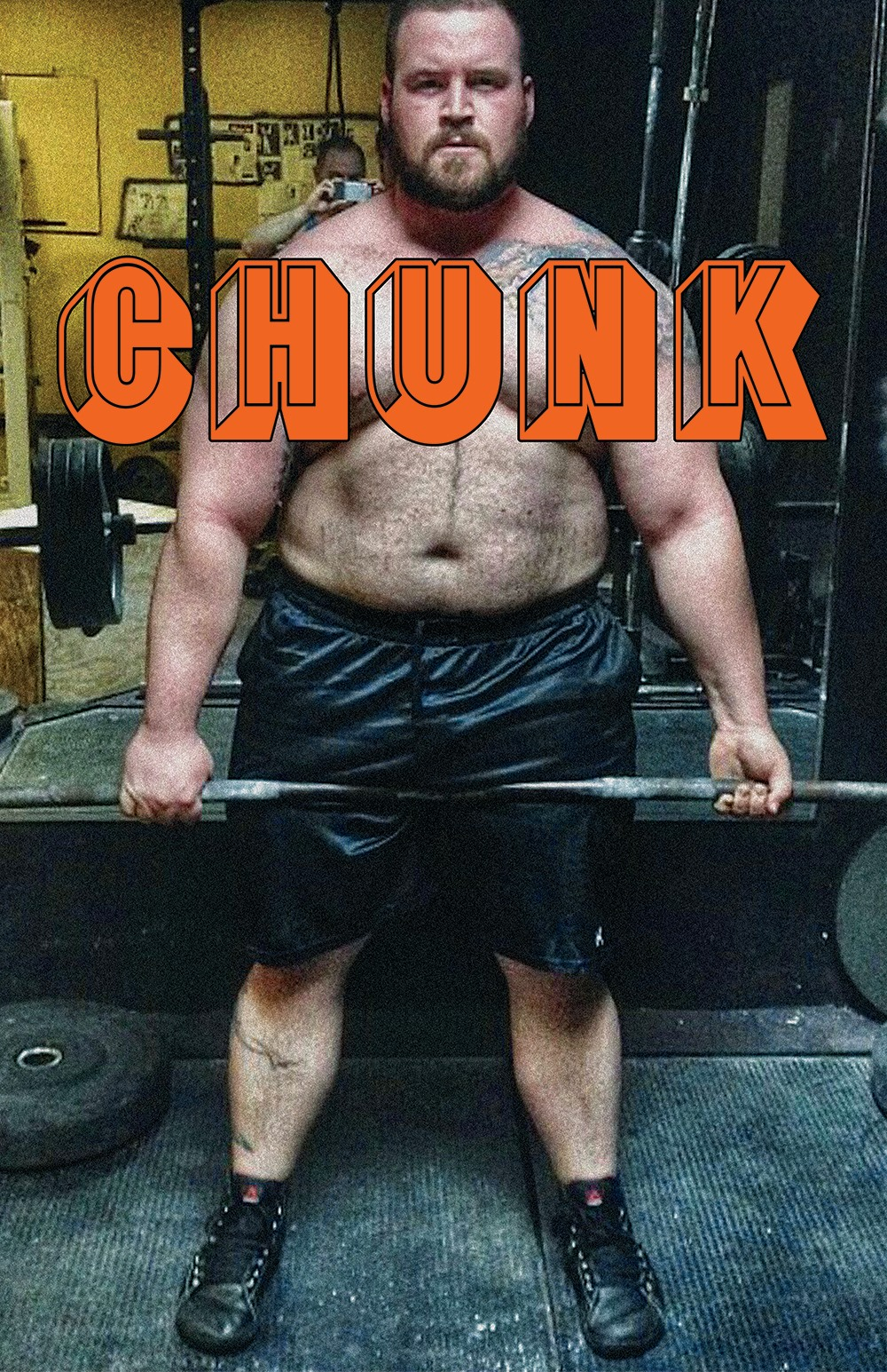 A CHUNK party poster.