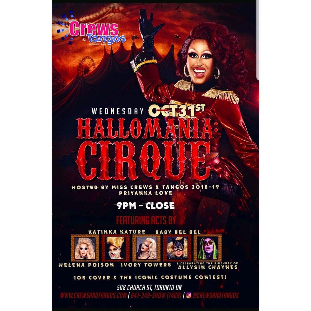 hallomania-cirque