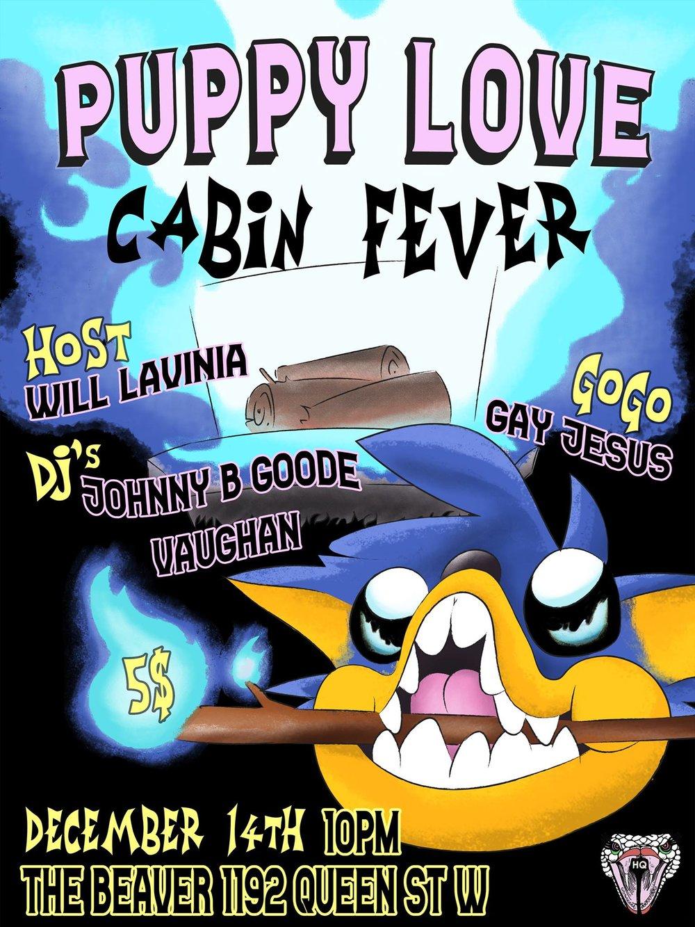 Puppy-love-cabin-fever