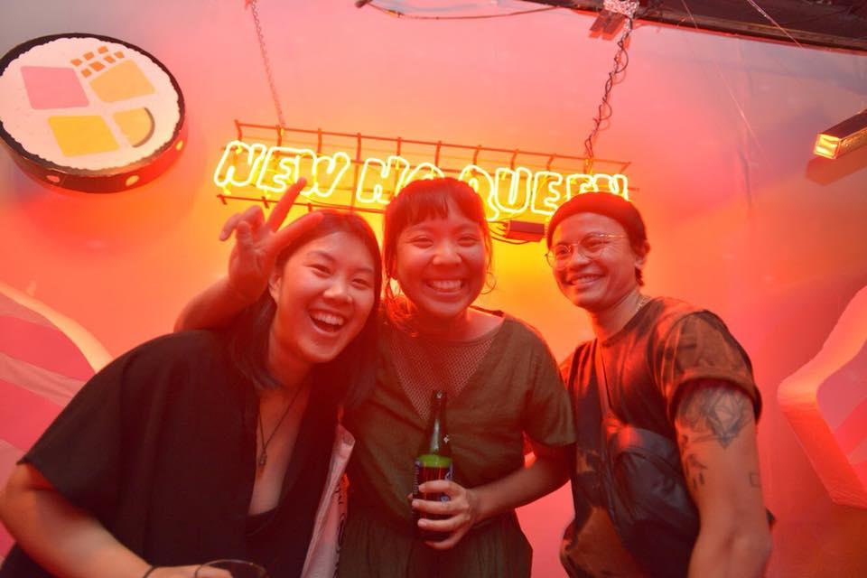 New Ho Queen's already legendary neon sign. Greg Wong.