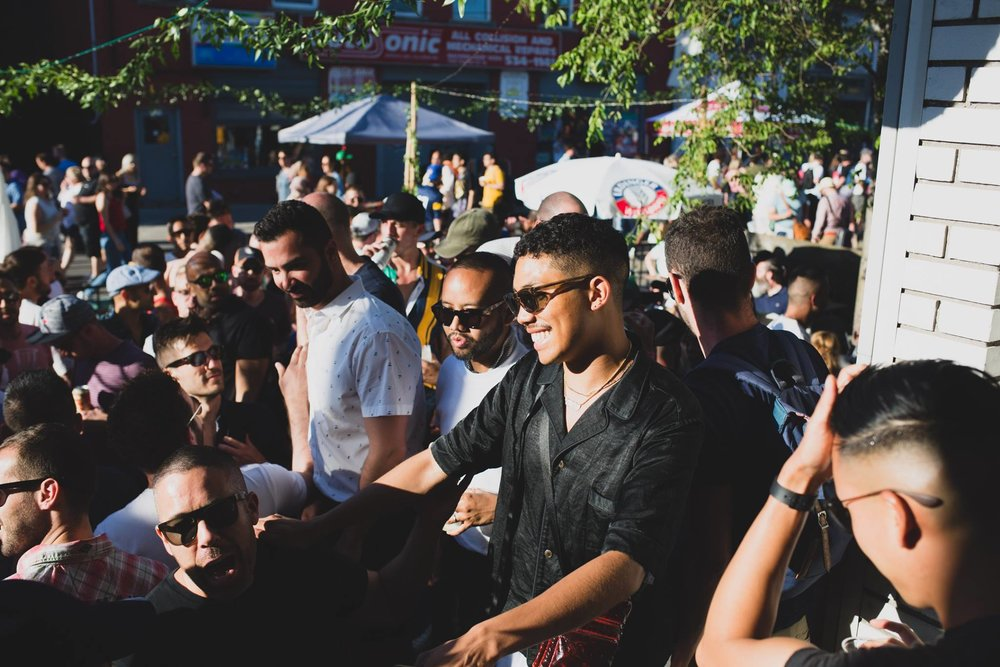 Yohomo's Not-So-Secret-Garden party at Dundas West Fest. Kyle Burton.