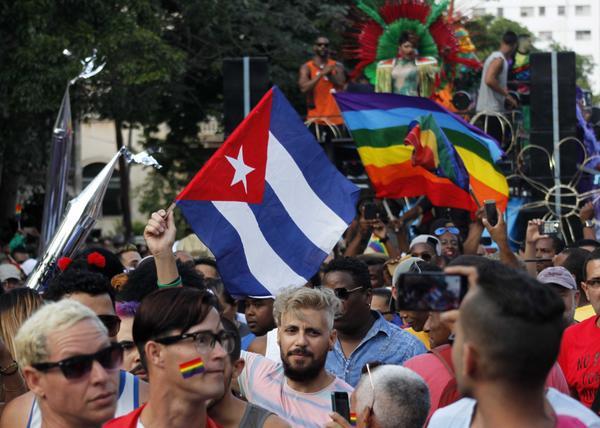 CUBA-LA HABANA-CELEBRAN CONGA CONTRA LA HOMOFOBIA Y LA TRANSFOBI
