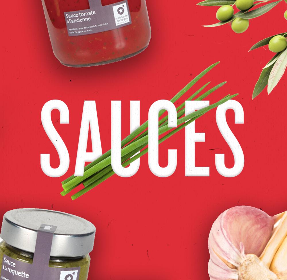 Des sauces traditionnelles remplies de soleil pour des plats onctueux et gouteux.