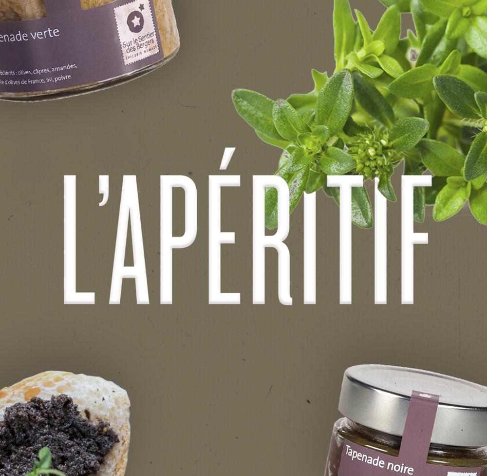 Une collection de préparations artisanales élaborées dans les Alpes de Haute Provence. Tapenades, anchoïade, crèmes de légumes et compotées.