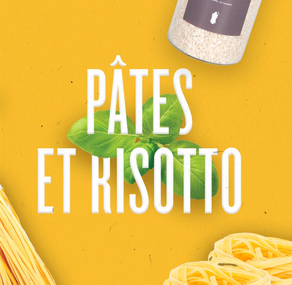 Des tagliatelles fabriquées dans le plus pur respect de la tradition culinaire italienne, à colorer de sauces variées et goûteuses.