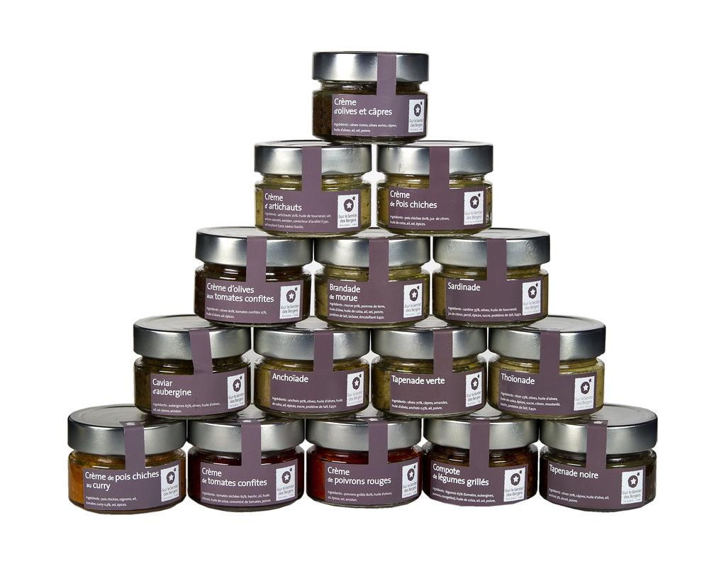 Les Collections Privées    Un mélange de crèmes d'apéritif artisanales fabriquées dans les Alpes de Haute Provence .