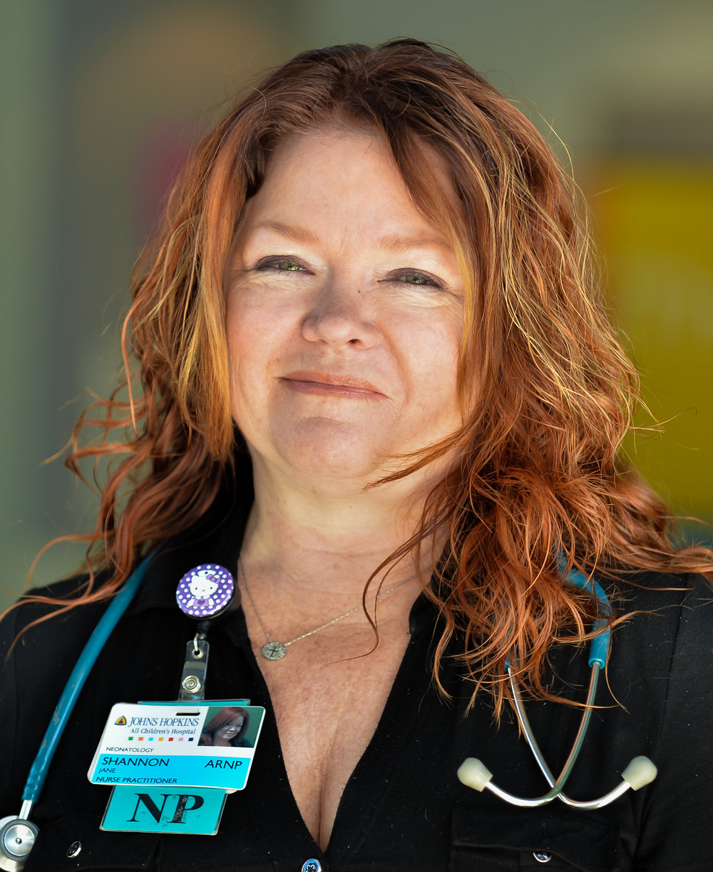 Jane Shannon is a nurse practitioner at the NAS follow-up clinic in Sarasota. [Herald-Tribune staff photo / Dan Wagner]
