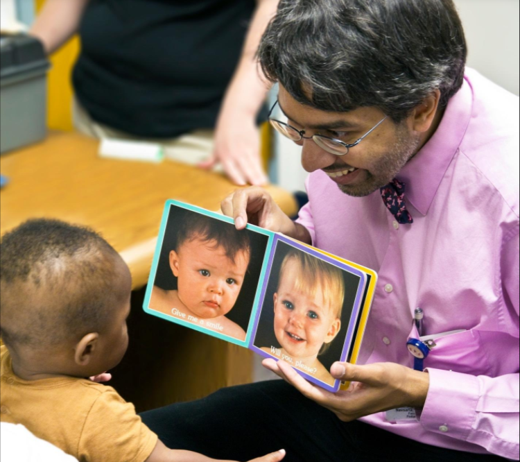Dr. Dipesh Navsaria, associate professor of pediatrics at the University of Wisconsin School of Medicine and Public Health and founding medical director of the ROAR program in Wisconsin.
