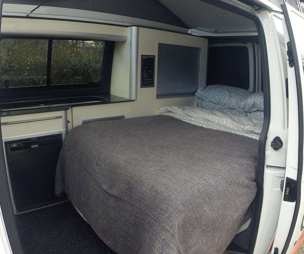 Rib Seats to Foam Bed