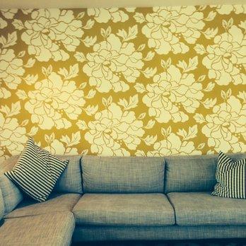 Residential Wallpaper Installation Danville Pleasanton Livermore - Bathroom remodel livermore ca