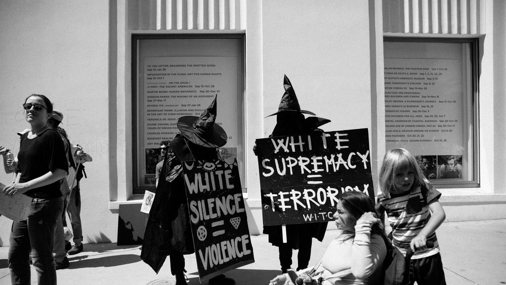 White Supremacy Equals Terrorism & White Silence Equals Violence