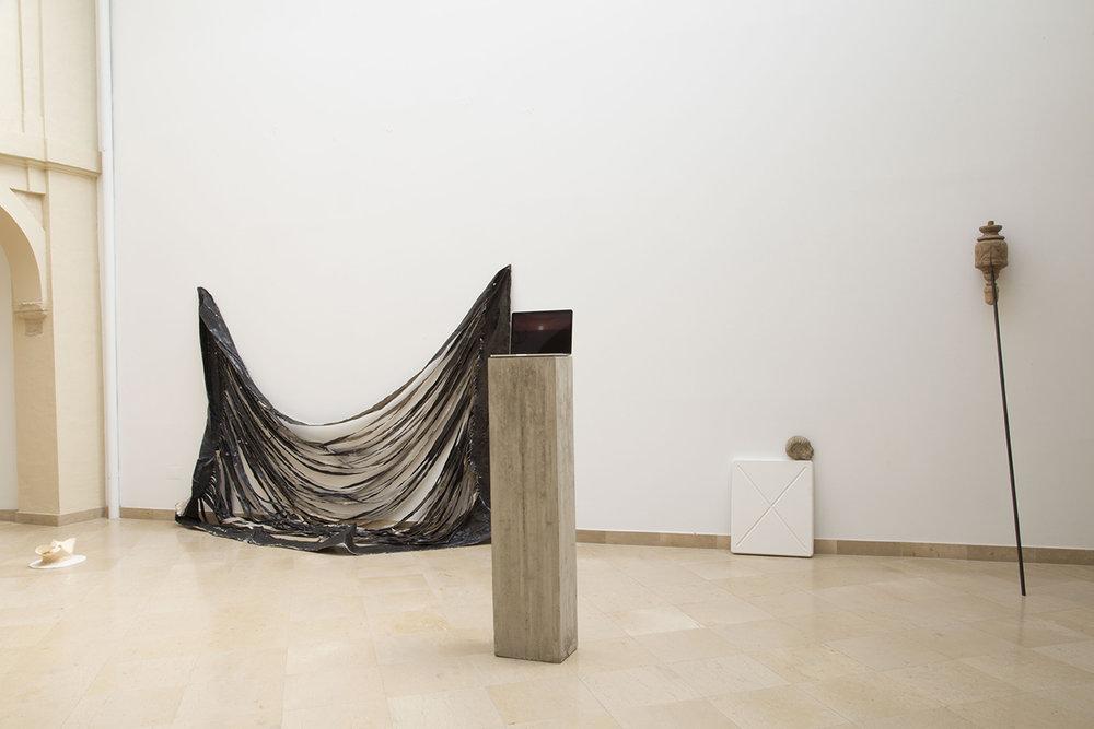 PABLO JANSANA. ANDREA GALVANI.SANTIAGO REYES VILLAVECES ©2016,INSTALLATION VIEW.EXHIBITION AT MUSEO CENTRO DE ARTE PEPE ESPALIÚ