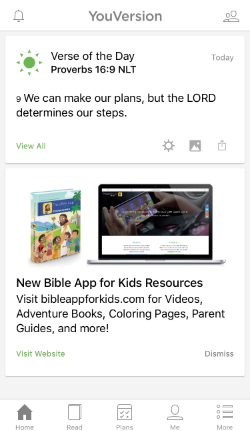 the message bible app