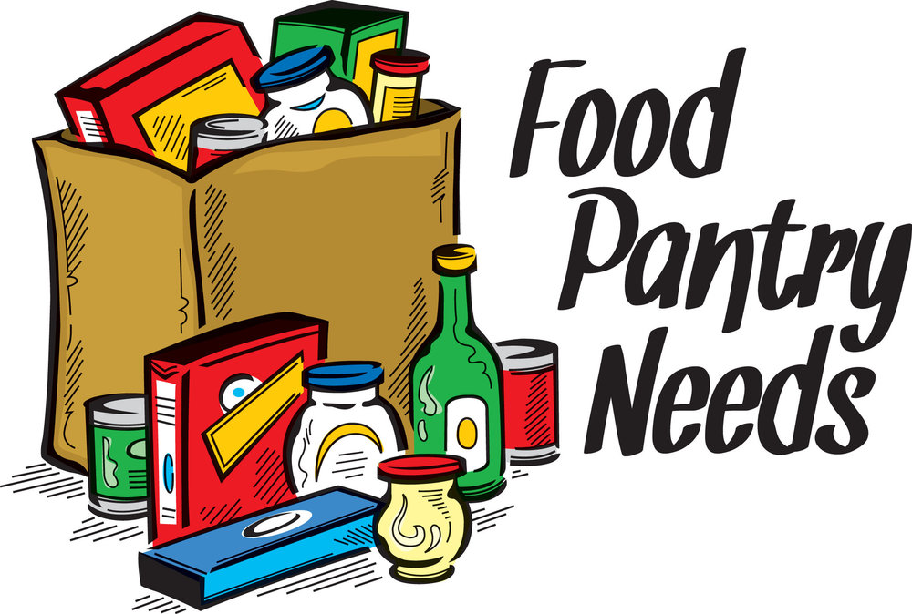 The Pantry is open the 3rd Wednesday of every month.  Shelves are Empty  Please help us restock.  Bring: canned fruit, soups (chicken noodle or vegetable), cereal bars, instant oatmeal packs, tea bags, hot chocolate, trash bags, shampoo, $10 gift card.  For those in need, the pantry will be open December 19, 1:00-3:00pm