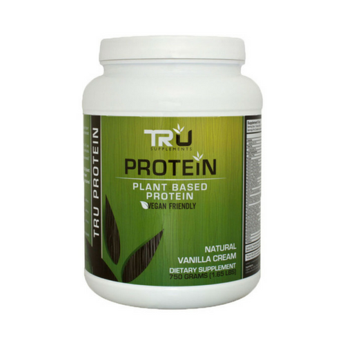 Tru Protein (9 Flavors Available – Select Flavor)    Tru Protein is the all natural and delicious plant based protein powder built to deliver your body the protein, amino acids, and micronutrients needed to get the most out of your healthy lifestyle.