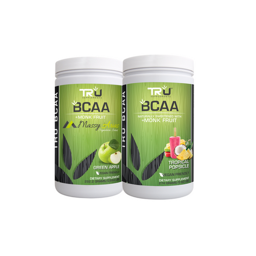 TRU BCAA – (2 Flavors Available – Select Flavor) – 30 Servings    BCAA (Branched Chain Amino Acids) are those amino acids that contribute most directly to muscular performance and endurance while promoting muscle recovery and fat loss.