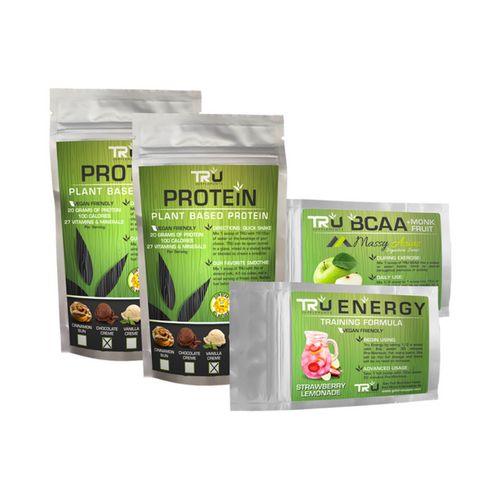 Tru Sample Bundle: Includes 2 Protein Samples (Chocolate And Vanilla), 1 BCAA, 1 Energy    Tru Sample Bundle: Includes 2 Protein Samples (Chocolate And Vanilla), 1 BCAA, 1 Energy