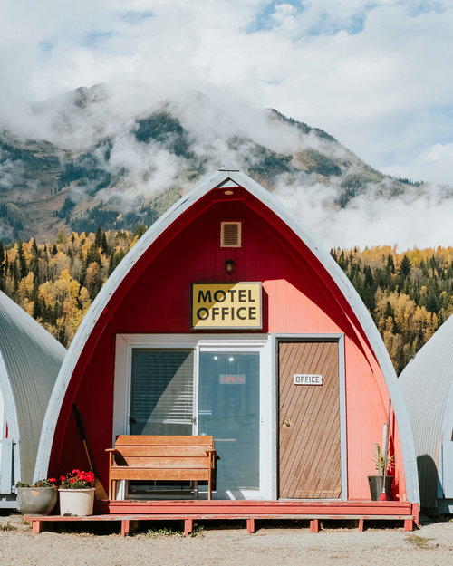 Photo by  @zachdriftwood  | Little Chalet Motel | Manitoba, Canada