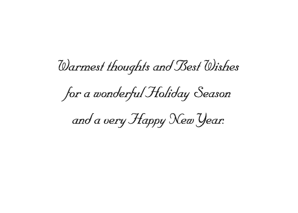 Warmest Thoughts