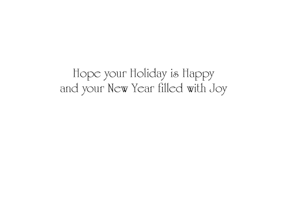 Hope Your Holiday