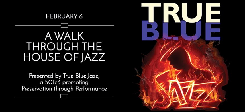 Theater Marketing - Jazz Event - Web Content - True Blue Jazz