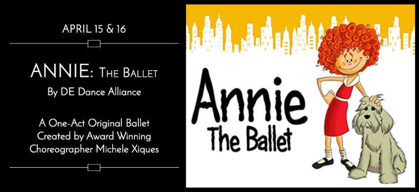 Theater Marketing - Ballet - Web Content - Annie