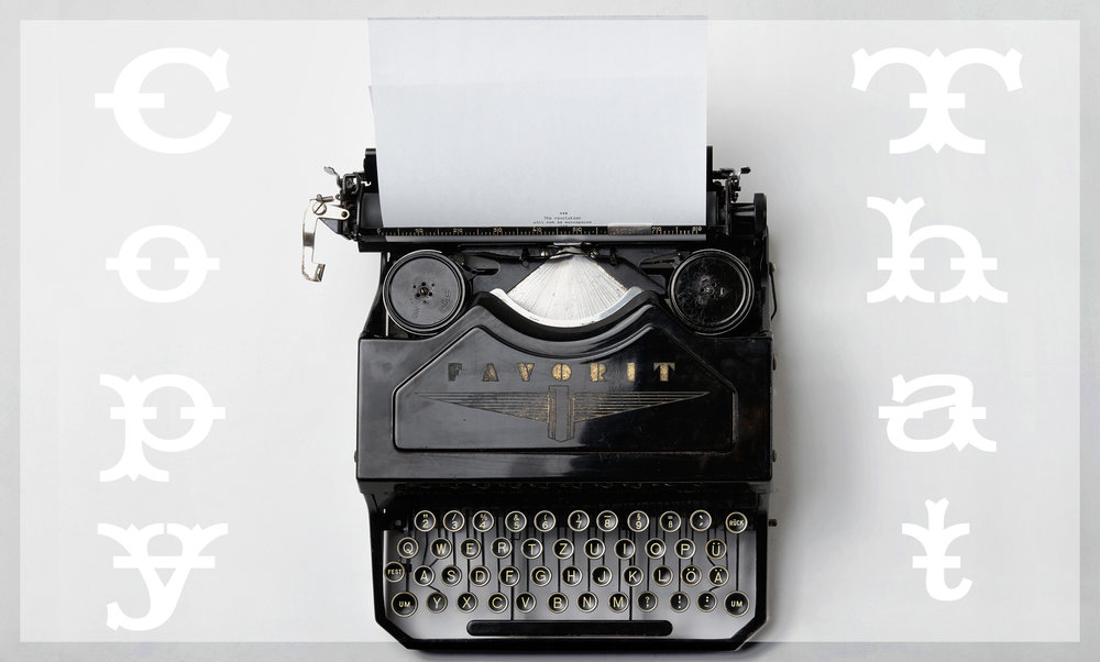 Copywriting / Web & Print Content / Blogging