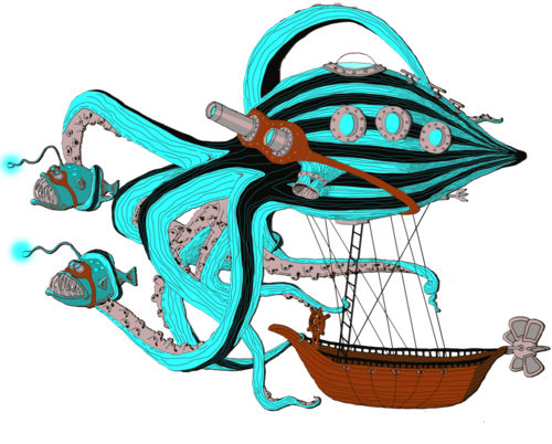 BlueOctopusVector_BlueFish_NoBackground_lesspink.png