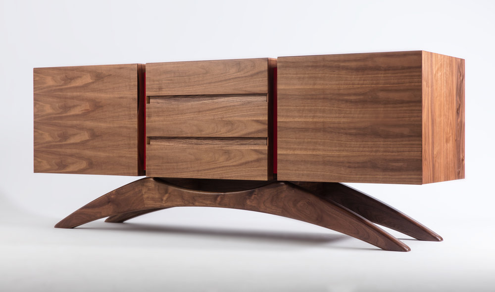 Retrospect Sideboard in Walnut