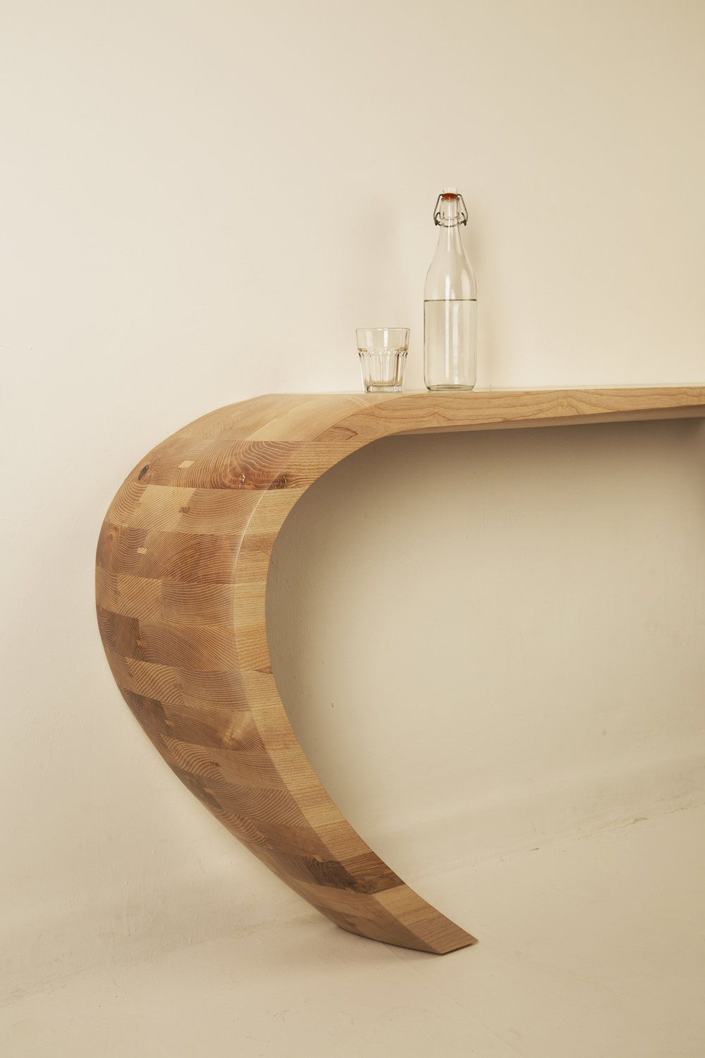Tephra Console Table and Shelf by Alan Flannery L2.jpg