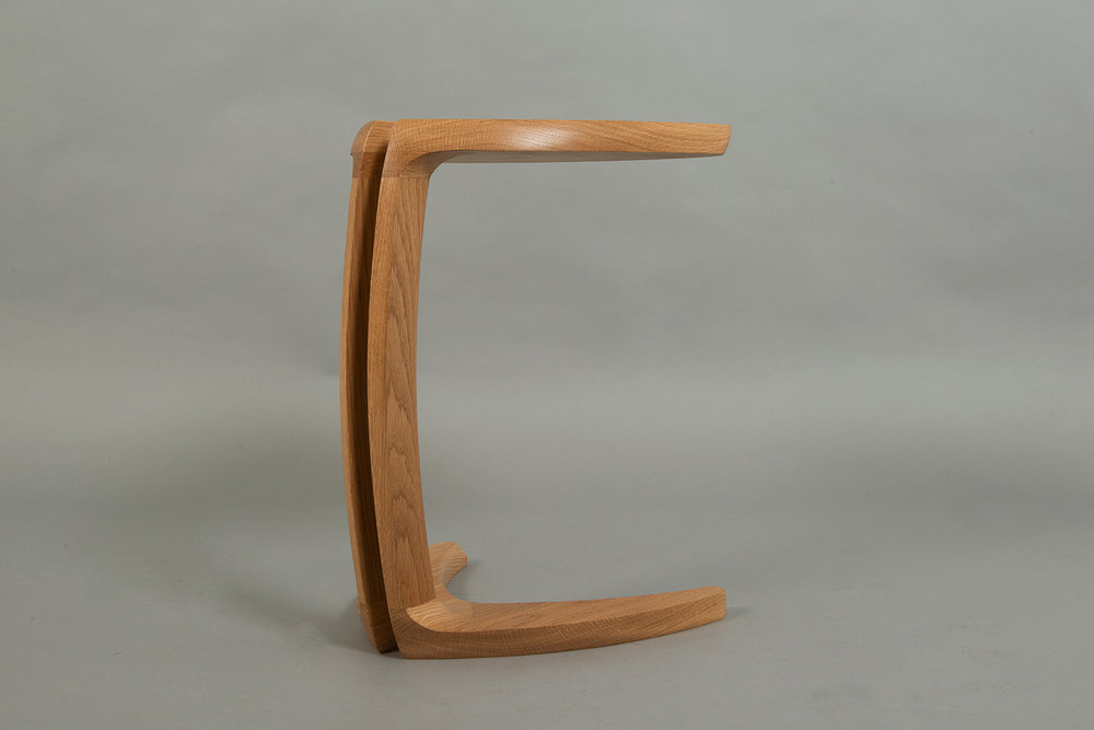 Fleure Side Table in Oak will be on display at this years Celebration of Craftsmanship and Design