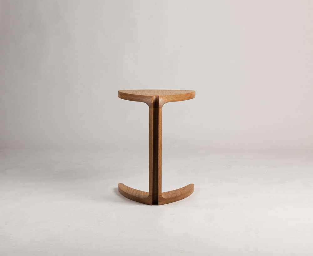 Fleure side Table created by Alan Flannery Furniture Design in 2018