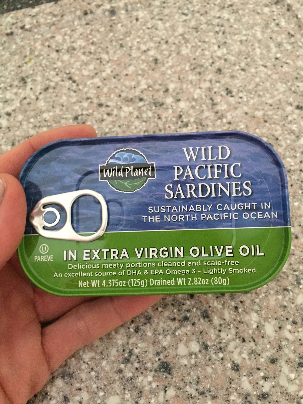 Good brand of sardines that is economical and clean.