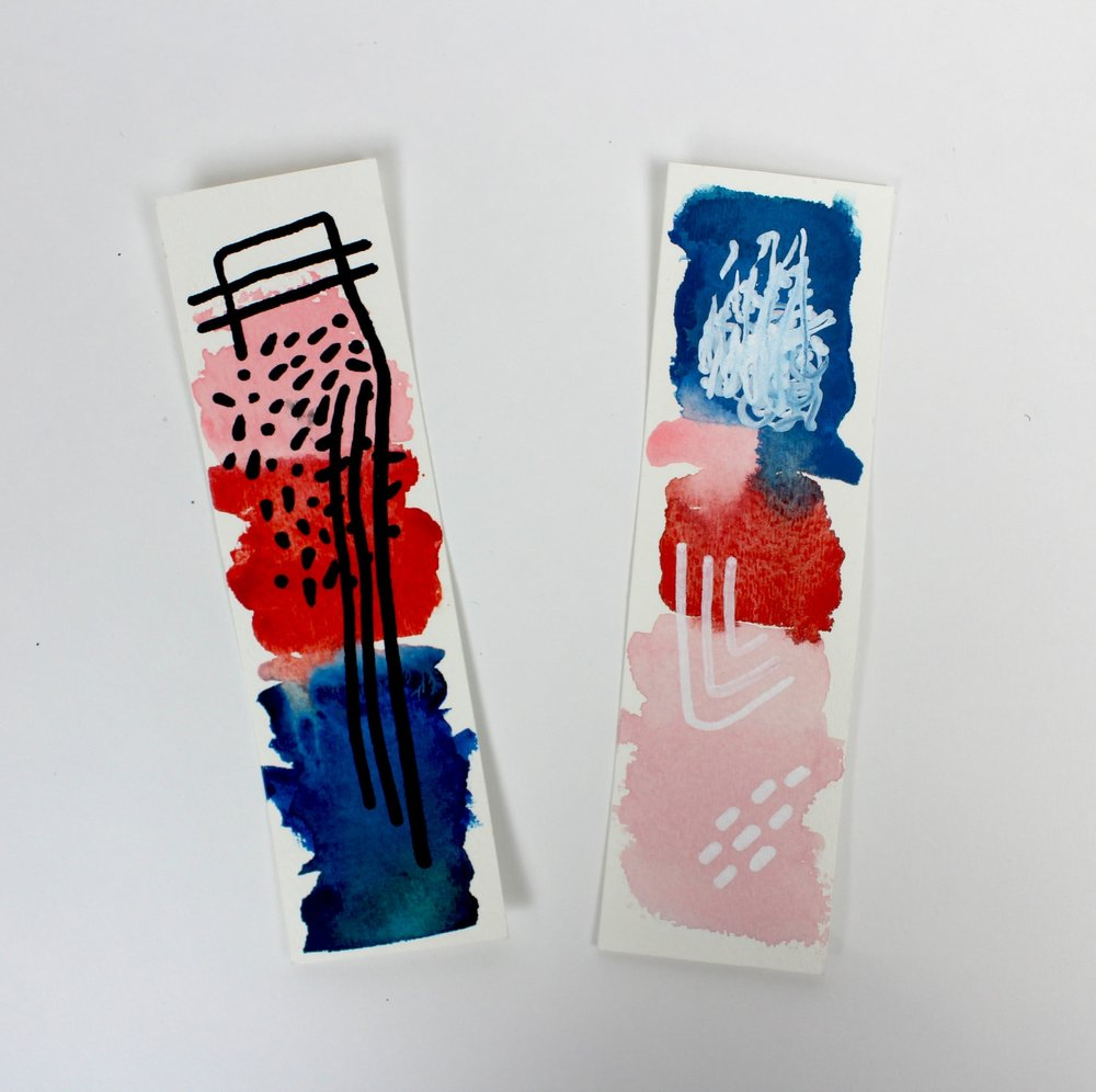 A COLOR STORY: Bookmarks