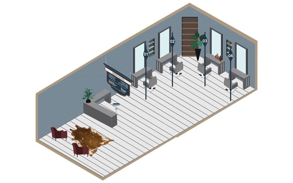 Barbershop Isometric